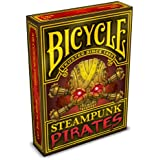 Steampunk Pirates Bicycle Playing Cards