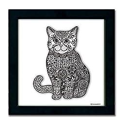 Cat Pen & Ink