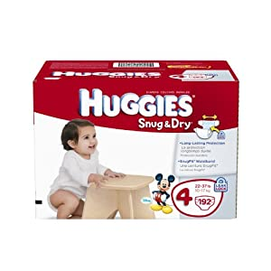 Extra 20% discount Huggies Snug & Dry Diapers