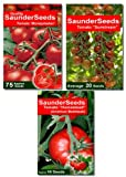 Saunderseeds 2010 tomato grower seed collection Set A with Moneymaker, American Homestead and Sunstream seeds. A tasty mix for any keen gardeners tomato project