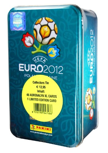 Adrenalyn XL-Euro 2012 - Caja de cartas (incluye 8 sobres y 1 carta de