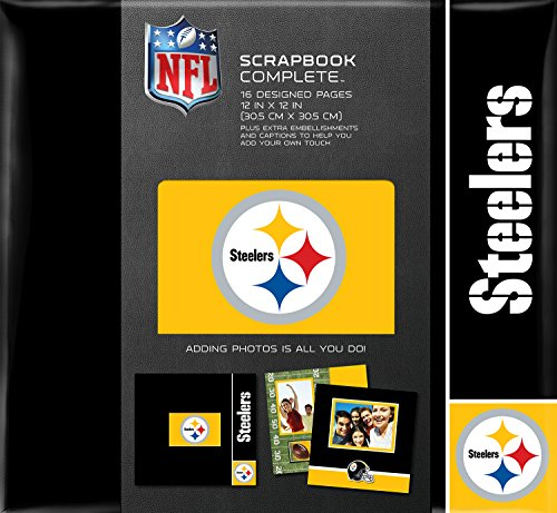 Pittsburgh Steelers Tapestry Complete Scrapbook Kit
