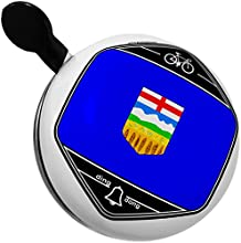 Bicycle Bell Alberta Flag region Canada by NEONBLOND
