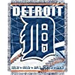 "Detroit Tigers MLB Triple Woven Jacquard Throw (MLB Series) (48x60"")"""