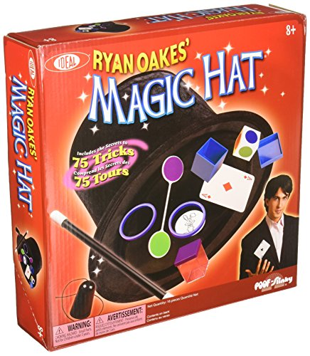 Ideal Ryan Oakes Collapsible Magic Hat with Free Storage Bag, Multi Color