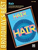 img - for Hair (Broadway's Best): 10 Selections from the Musical (Easy Piano) book / textbook / text book
