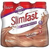 Slim Fast Café Latte Milkshake Multipack Bottle 325ml (Pack of 6)