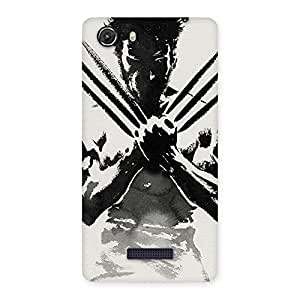 Gorgeous Ready Wolf Shade Back Case Cover for Micromax Unite 3