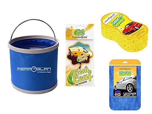 Raaisin Ultimate Wash & Glow Car Care Combo(BLENYL)