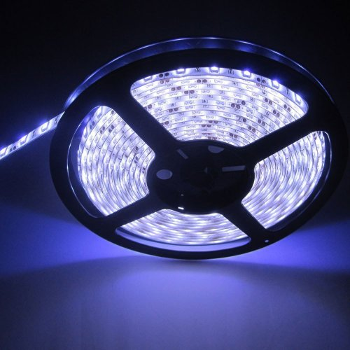 Supernight 5 Meters Cool White Led Light Strip Waterproof 60Leds/M 300Leds/Reel Cool Fashion Led Light Strip For Decoration Tv Wall Music Stage Wedding Birthday Festival Party Car Motocycle Diy Decorative Led Strip Dc 12V Waterproof front-211627
