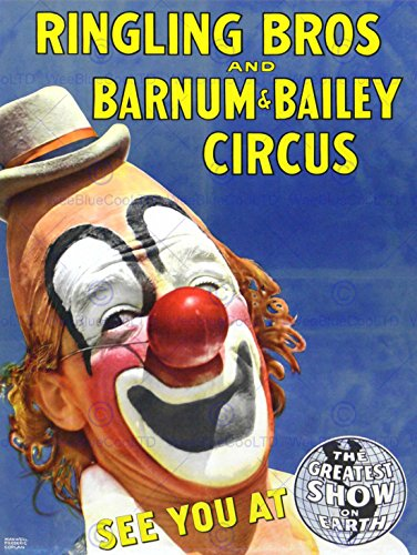 circus-ringling-bros-barnum-bailey-show-clown-30x40-cms-fine-art-print-affiche-imprimer-art-poster-b