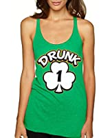 Allntrends Women's Tank Top Drunk 1-6 St Patrick's Day