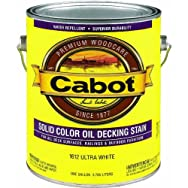 Valspar 140.0001612.007 Cabot Solid Color Oil-Based Decking Stain
