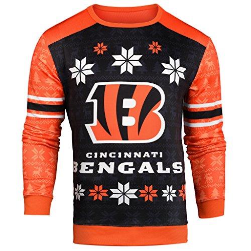NFL Ugly Sweater Cincinnati Bengals