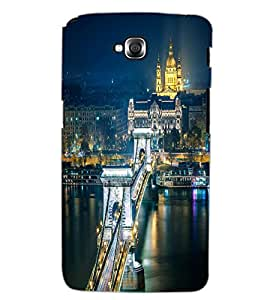 LG G PRO LITE CITY VIEW Back Cover by PRINTSWAG