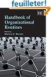 Handbook of Organizational Routines