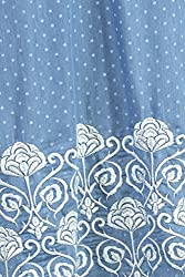Feather Touch Women's Other Kurti (FT3235BU1_Blue_38)
