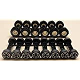 DEAL OF THE DAY!!! DO NOT MISS OUT!NEW-70-pc-Lego-Wheels-Vehicle-Parts-Car-Truck-Tires-Rim-Sets-LOT
