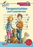 LESEMAUS zum Lesenlernen Sammelbände: Neue Tiergeschichten zum Lesenlernen: Bild-Wörter-Geschichten -