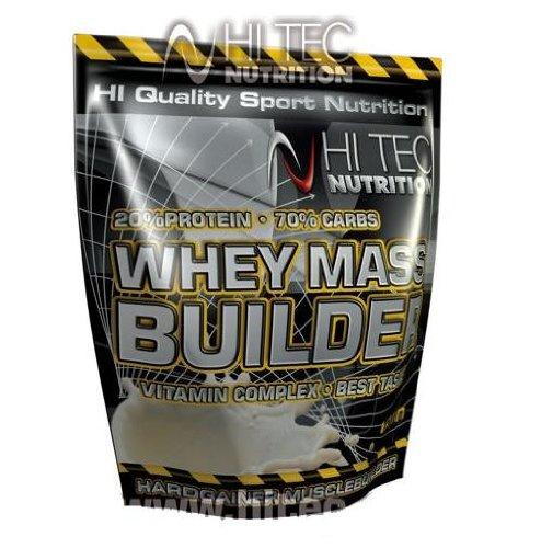 Top Gainer Whey Mass Builder 20% Protein - Vitamin Complex - besten Geschmack (3000g Banane)