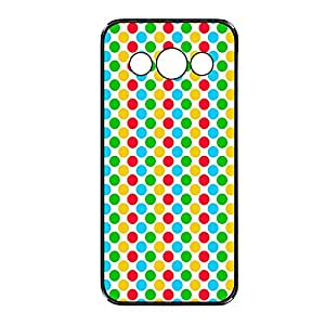 Vibhar printed case back cover for Samsung Galaxy Core ColorBalls