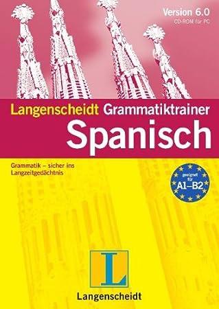 Langenscheidt Grammatiktrainer 6.0 Spanisch