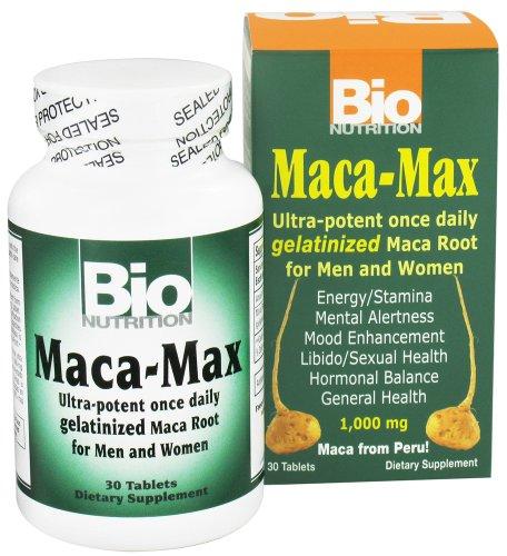 Bio Nutrition Maca Max 1000 mg 30 Tablets
