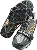 Yaktrax Pro Traction Cleats for Snow and Ice, Black, Medium