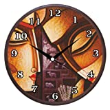 Wall Clocks - Printland Painted Wall Clock