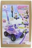 INJUSA 6 in 1 TODDLER INFANT RIDE ON PUSH ALONG QUAD BIKE ROCKER TOY XMAS GIFT