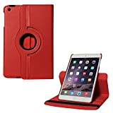DMG Full 360 Rotating Cover Case For Apple Ipad Mini 3 (Red)