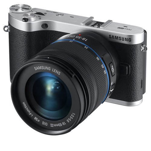 Review Samsung NX300 20.3MP CMOS Smart WiFi Compact Interchangeable Lens Digital Camera with 18-55mm...