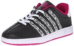 k-SWISS Classic VN Sneaker (Infant/Toddler/Little Kid/Big Kid), Black/Raspberry, 2 M US Infant