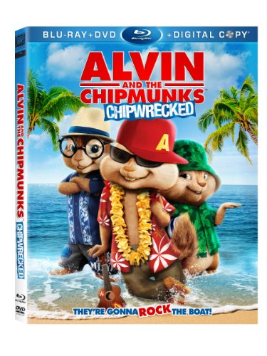 Cover art for  Alvin and the Chipmunks 3: Chipwrecked (Blu-ray/DVD/Digital Copy)