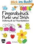 Fingerabdruck, Punkt und Strich: Zeic...