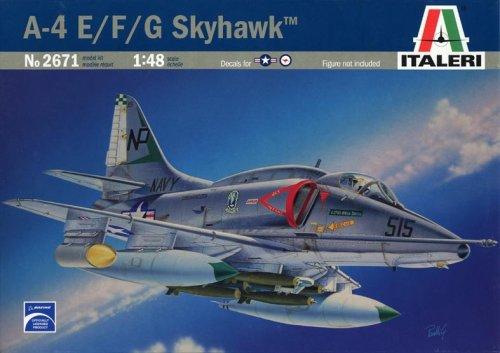 タミヤ イタレリ 2671 1/48 飛行機シリーズ 1/48 A-4E/F/G スカイホーク