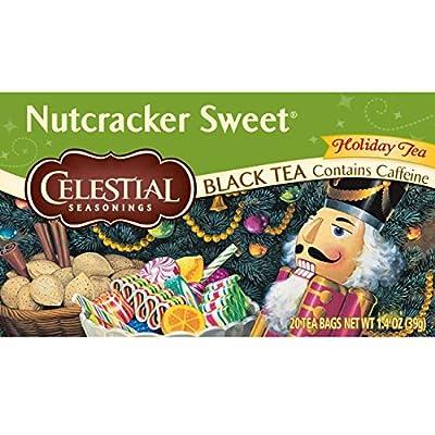 Celestial Seasonings Holiday Teas Nutcracker Sweet 20 tea bags (a)