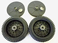 Set Of 2 Original Fsp Lawn Mower Wheel K...