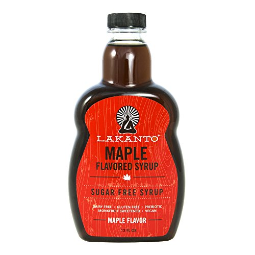 Maple flavour syrup