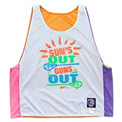 Suns Out Guns Out Lacrosse Sublimated Reversible