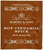 Harney & Sons Hot Cinnamon Spice Tea 100g / 3.57 oz (50 Tea Bags)