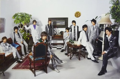 ポスター ★ Hey!Say!JUMP 集合 2009-2010 「Hey! Say! JUMP WINTER CONCERT 09-10」 A全