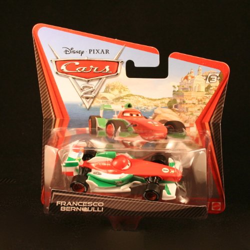 Disney / Pixar CARS 2 Movie 155 Die Cast Checkout Lane Package Francesco Bernoulli - 1