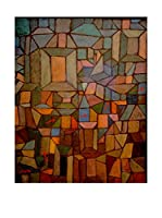 Especial Arte Lienzo The Way to the Citadel - Klee Paul Multicolor