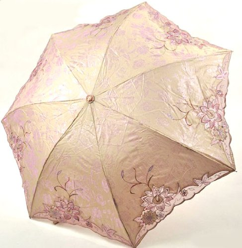 Paradise Flowers in Spring Foldable Umbrella, Anti-UV Sun Umbrella, Parasol Series & Colors Varies