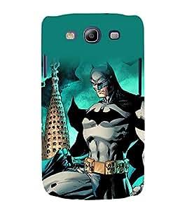 printtech Superhero Gotham Back Case Cover for Samsung Galaxy S3 / Samsung Galaxy S3 i9300