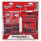 Milwaukee Shockwave Impact Driver Bit Set (47-Piece)