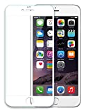 iXCC 0.3mm Full Cover High Definition Crystal Clear Round Angle High Response Anti Scratch Hard Tempered-Glass Screen Protector for Apple iPhone6 / 6s
