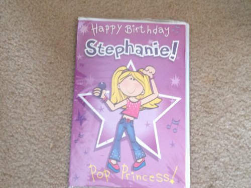 Happy Birthday Stephanie - Singing Birthday Card