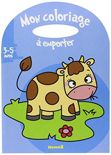 Mon coloriage a empo vache 3 5 ans hemma coloriag poigne francais broche - Coloriage 5 ans ...